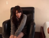 Delicious Japanese schoolgirl Aisu Kokoa gets toyed and fucked doggy-style picture 8