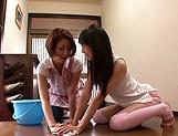 Sena Ryou and Saotome Rabu enjoy a it lesbo