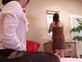 Kinky lesbian milfs Reiko Asahina, and Mari Nishiyama massage bdies lick pussies