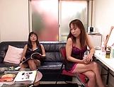 Yumi Kazama and  Tsubomia love lesbo action