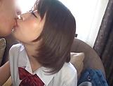 Mayu Mai and Aya Hinano in hot toy sex action