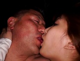 Stunning milf with big tits Yume Mizuki gets her boobs fucked