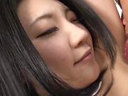 Nishino Hikari enjoys a sizzling hot pounding