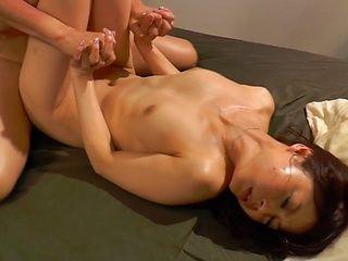 Gorgeous Asian wife Yui Sakura with superb form enjoys a good fuck