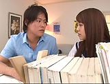 lovely Maya Hashimoto gets kinky with tutor picture 11
