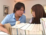 lovely Maya Hashimoto gets kinky with tutor picture 12