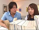 lovely Maya Hashimoto gets kinky with tutor picture 13