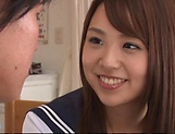 lovely Maya Hashimoto gets kinky with tutor picture 14