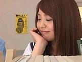 lovely Maya Hashimoto gets kinky with tutor