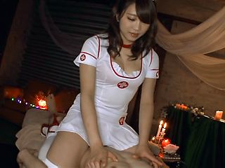 Shino Kuraki, wild Asian nurse in hardcore cosplay sex