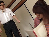 Sexy Rina Yoshiguchi gets her  pussy toyed