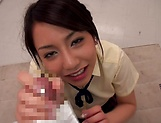 Amateur Matsumoto Meisucks dick and gives tit fuck