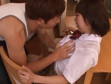 Harura Mori moans to the hardcore pussy pounding picture 14