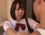 Harura Mori moans to the hardcore pussy pounding picture 7