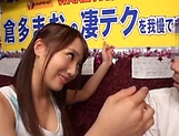 Mao Kurata Striking beautiful Jessa gives head picture 11