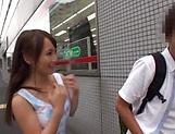 Mao Kurata Striking beautiful Jessa gives head