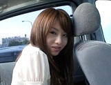 Crazy Japanese milf Akiho Yoshizawa is mad about car sex picture 3
