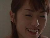 Hot MILF Hikaru Houzuki sucks toys and dicks passionately picture 12