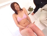 Hot kinky MILF Ayu Mayumi loves to play anal with her toys
