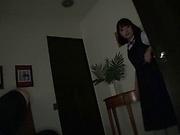 Tsujii Yuu has her sweet  ass sensually licked