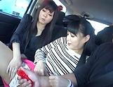 Hottie Kokona Sakurai has her cunt toyed picture 12