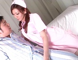 Anal sex with superb Asian nurse, Emi Harukaze