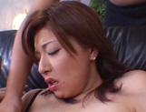 Lovely honey Yuria Misaki banged and gets a facial