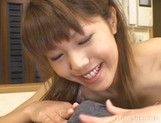 Arika Takarano Cute Av Idol Japanese Is Addicted To Cum And Eats It Every Chance She Gets picture 15