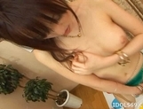 Arisa Enjoys Showing Off Her Smooth Pussy To The Cameras picture 15