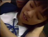 Nice Asian schoolgirl gives hot amateur sex in the classroom