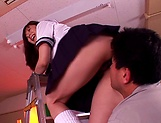 Yuma Asami gets her tight twat drilled good picture 12