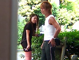 Hot Japanese milf gets her twat nailed well