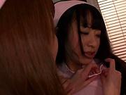 Ogura Momo and Niiyama Kaede fuck good