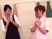 Attractive Naruse Kokomi enjoys getting pleased