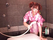 Naruse Kokomi enjoys a steamy hardcore