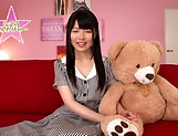 Hot bukkake scenes with horny Japanese teen, Nagomi picture 15