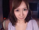 Crazy Japanese amateur chick Minami Kojima gets bukkake picture 12
