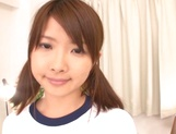 Cute Japanese AV model gives blowjobs gets multiple facial cumshots picture 1
