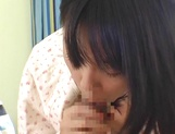 Skillful amateur teen Nana Nanaumi gives a cute treatment to cock