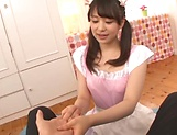 Sizzling hot blowjob performed by Kamiki Sayaka picture 13