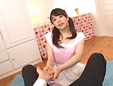 Sizzling hot blowjob performed by Kamiki Sayaka picture 15