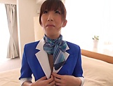 Nanahara Akari opens legs for the captains's dick picture 8