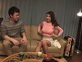Mature Asian temptress gives satisfying head