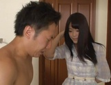 Lovely Ai Asakura knows how to please dick picture 13