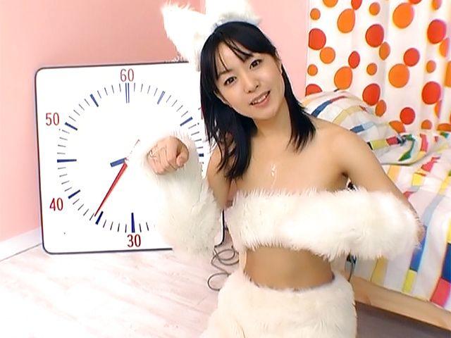 Superb cosplay POV porn show with Nana Nanami