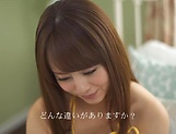 Lovely Yoshizawa Akiho masturbates and sucks dick picture 4