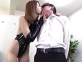 Seira Matsuoka enjoys the art of domination