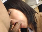 Schoolgirl blows teacher for better grades picture 12