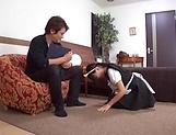 Mesmerizing Satou Airi knows how to please dick