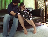 Amateur blowjob porn scenes with a hot Japanese AV model picture 3